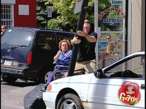 Funny Car Destruction Prank