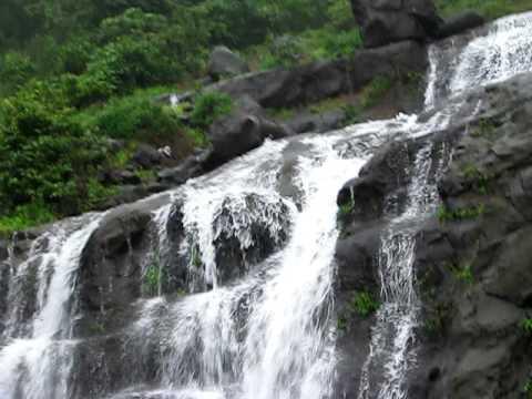 Malshej Ghat Waterfall in India