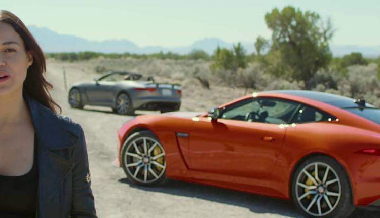 Michelle Rodriguez Drives The F-TYPE SVR Jaguar USA