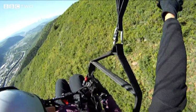 Paragliding In The Name Of Science