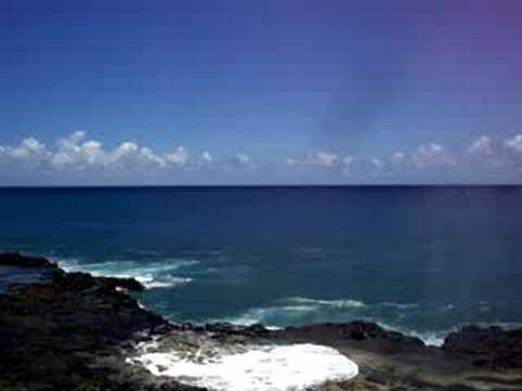 Spouting Horn Kauai Hawaii