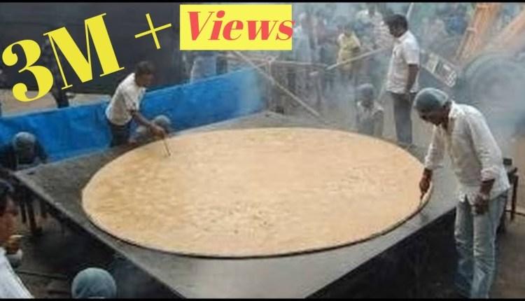 World Record – The World's Biggest Roti (Chapati)