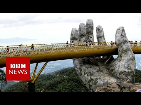 Golden Bridge In Ban Na Hills – Da Nang