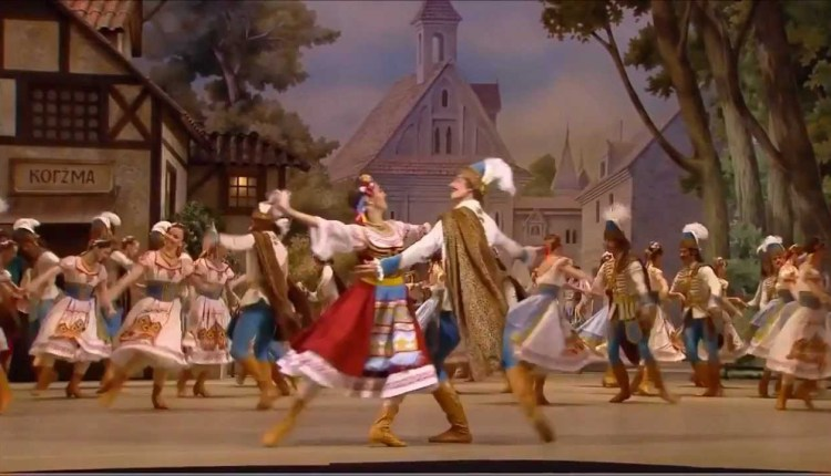 The Ballet Dance Of Mazurka Of Coppelia Is Awesome