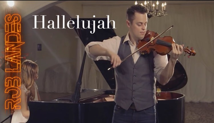 Hallelujah Played Wonderfullly On Violin And Piano