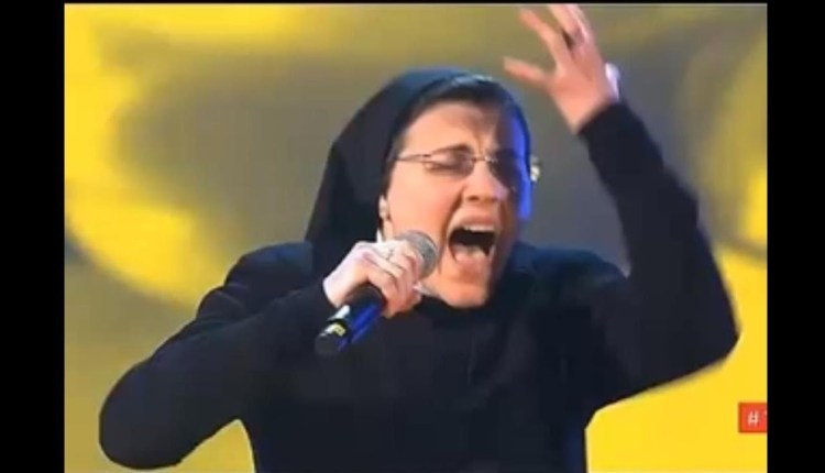 The Singing Nun Stuns Everyone With Her Performance