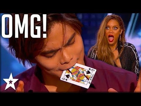 Shin Lim Surprises Audience With Card Trick