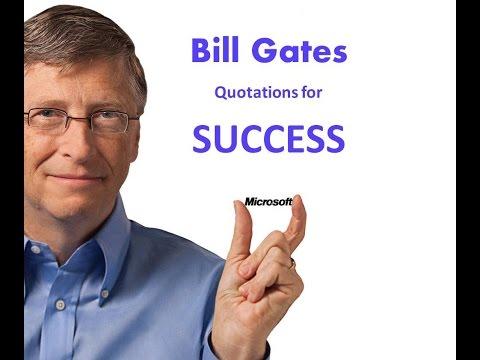 Bill Gates Quotes and Thoughts in English and Hindi - VidyaGyaan