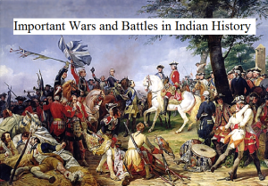 Wars and Battles in Indian History