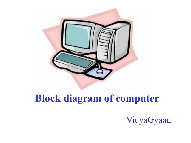 schematic diagram of computer components basic home wiring diagrams pdf block and its various vidyagyaan