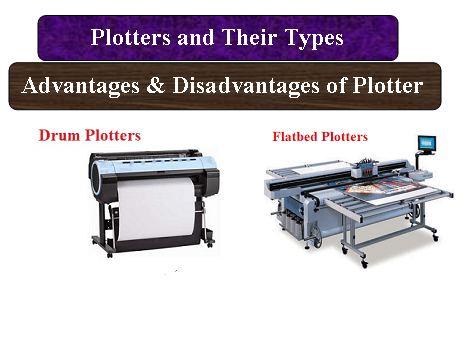 Plotters and Their Types | Advantages & Disadvantages of