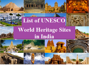 List of UNESCO World Heritage Sites in India -PDF