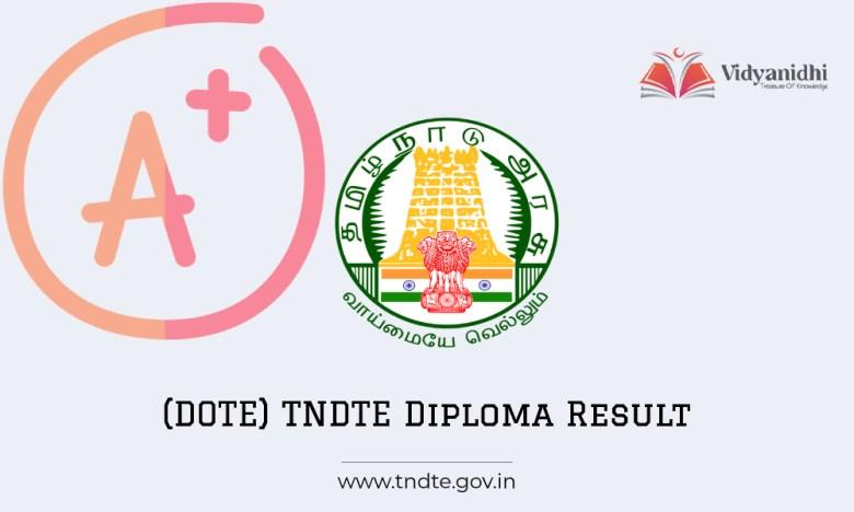 DOTE Result 2022 of Tamil Nadu Diploma Odd Sem exam
