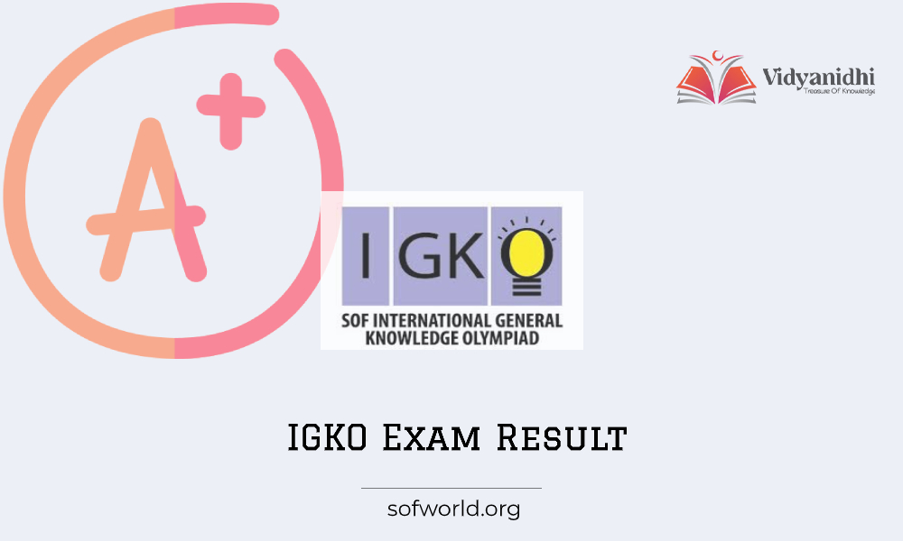 SOF International General Knowledge Olympiad 2020 - IGKO Exam Result