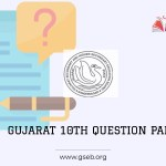 Gujarat 10th model question paper 2021