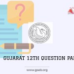 Gujarat Board 12th question paper 2021