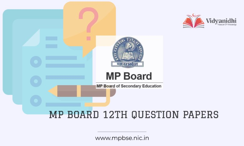 MP Board 12th model question papers 2022