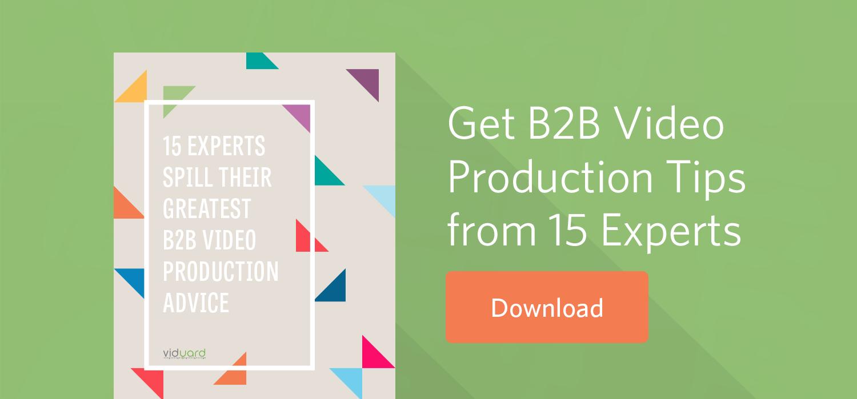 B2B Video Production Tips