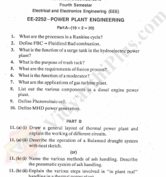 power plant engineering solved question papers 2015 edition [ 1675 x 2408 Pixel ]