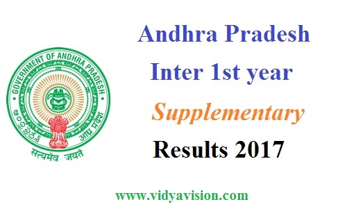 AP Inter 1st year Supply Results 2017