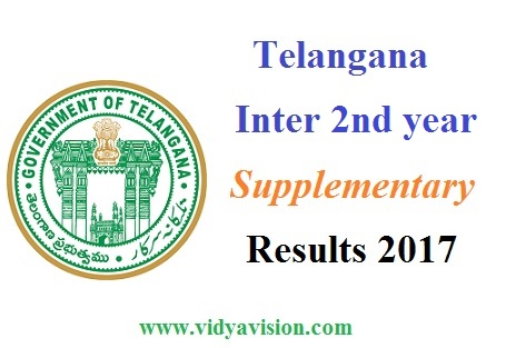 TS Inter 2nd year Supply Results 2017