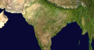 geography of india in hindi