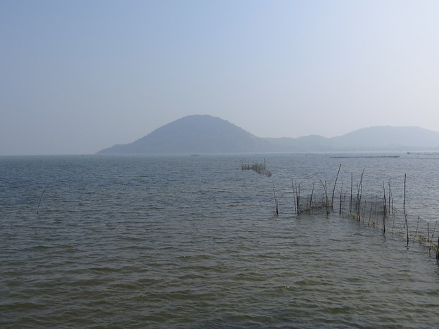 biggest lake in india