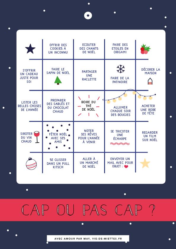 Bingo De Nol Imprimer Vie De Miettes