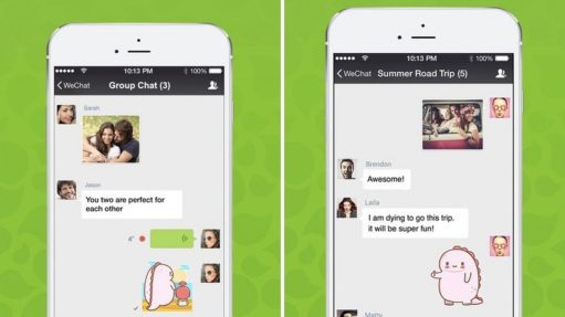 wechat app- best socila networking apps for android in 2021
