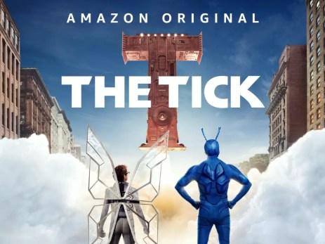 The Tick- best superhero shoes on amazon prime