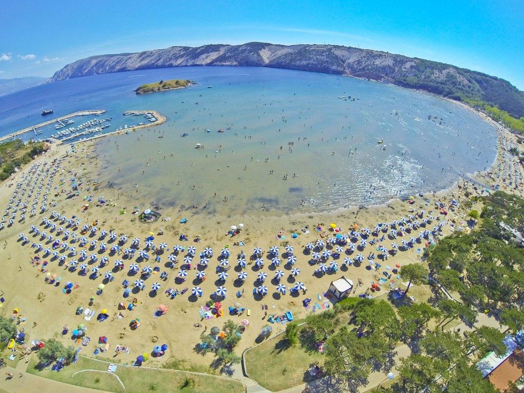 isola di Rab ( Arbe )Villaggio turistico san marino