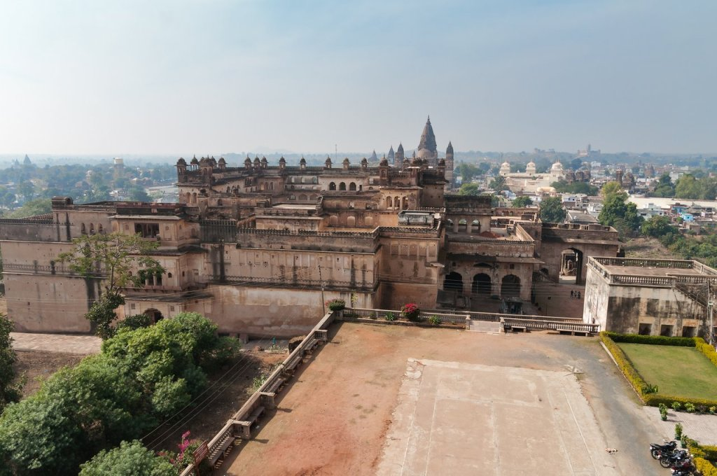 View Of Raj Mahal Palace