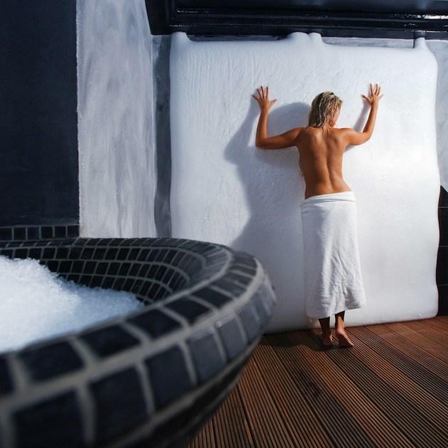 Portoroz Life Class Resort Saună Parc de gheață de gheață
