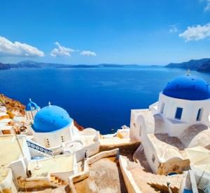 Santorini Grčija