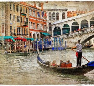 Oslikana Venecija