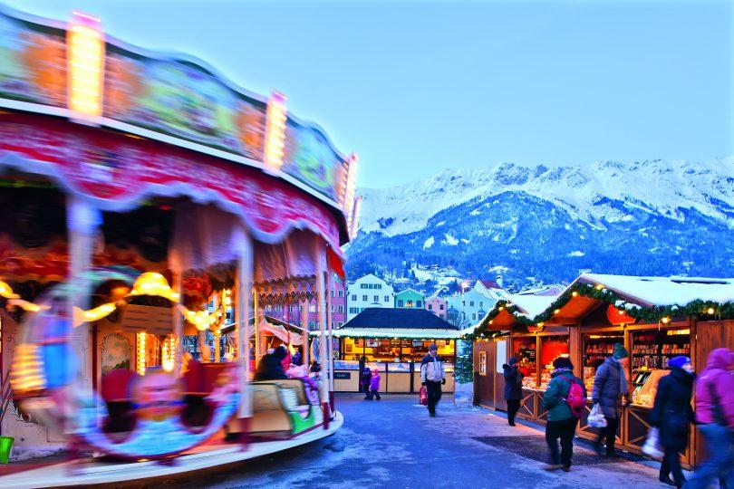 Božični trgi v Innsbrucku