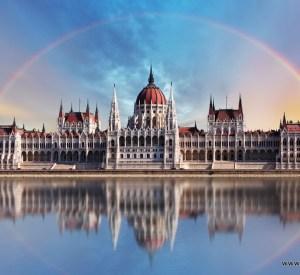 Budimpeštanski parlament na Dunavu