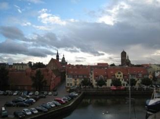 Stralsund im Regen #Lostland