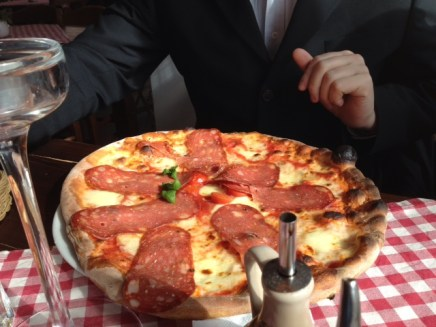 Kleine Pizza