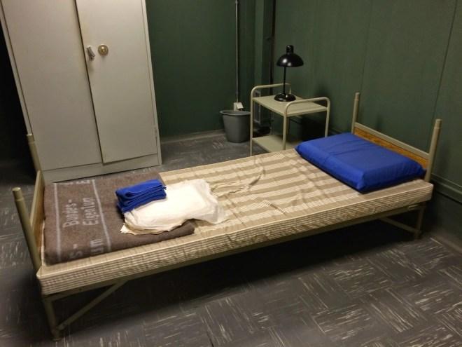 Schlafzimmereinrichtung des Bundeskanzlers