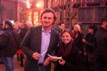 Parfumeur Hubert Smyreck und Produktdesignerin Helena Boddenberg