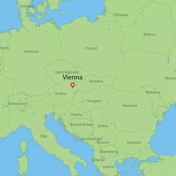 Where is Vienna Austria Map Climate Zone and Nearest Cities