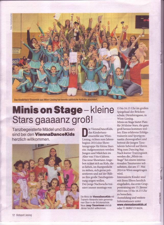 Artikel Minis on Stage 2014