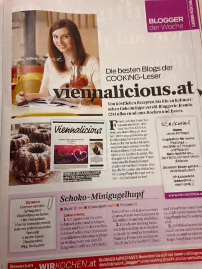 Viennalicious in der Presse_Cooking Magazin_15.1.2016