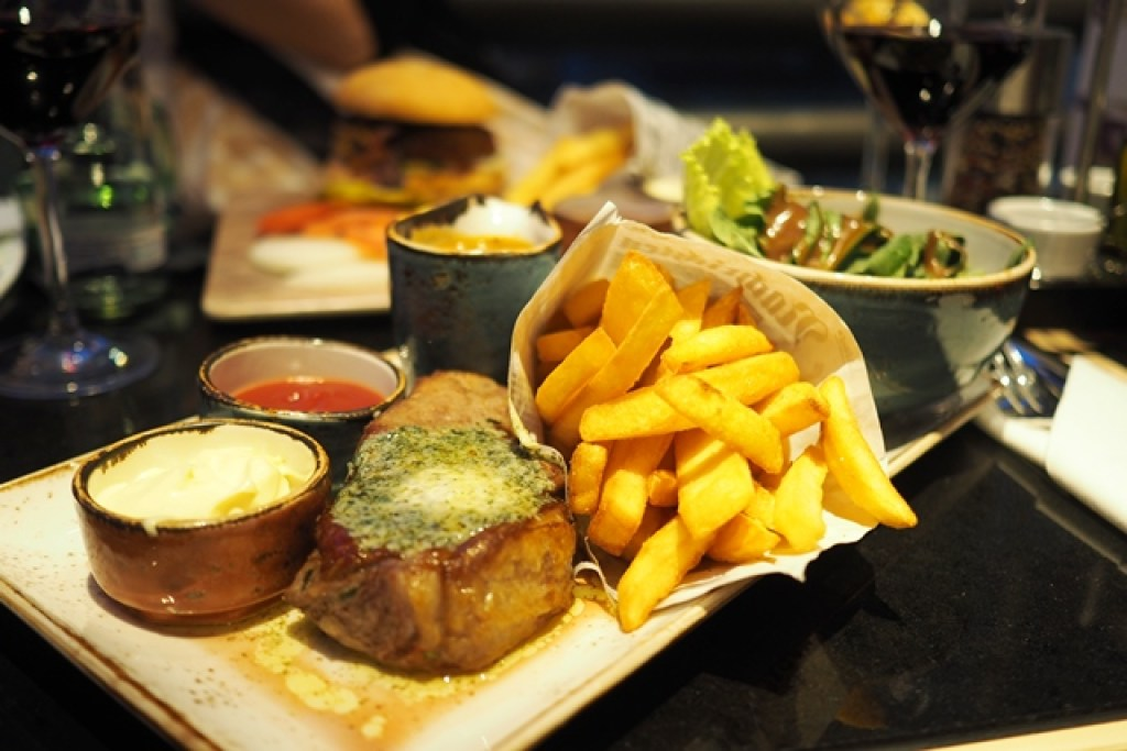 Argentinisches Rumpsteak im Mercure Hotel Berlin City