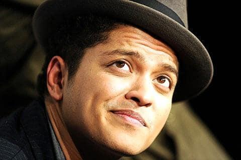 Bruno Mars Vienna 2013