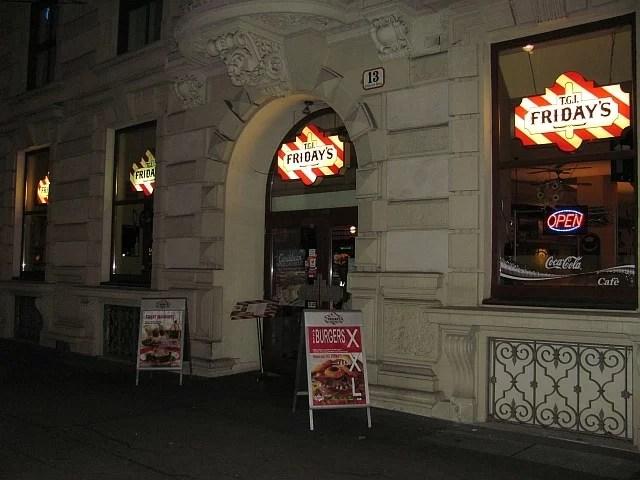 Friday's Vienna