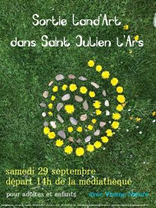 Sortie Land'Art @ Saint-Julien-l'Ars