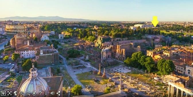 Roma  Aventino Appartamento piano alto Nuda Propriet