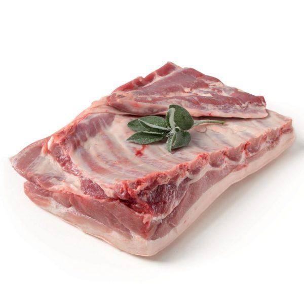 costatelle di maiale sottovuoto in buste da 250 gr c105 1.1